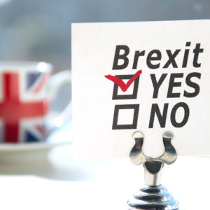"Brexit: The British have chosen ""YES"""